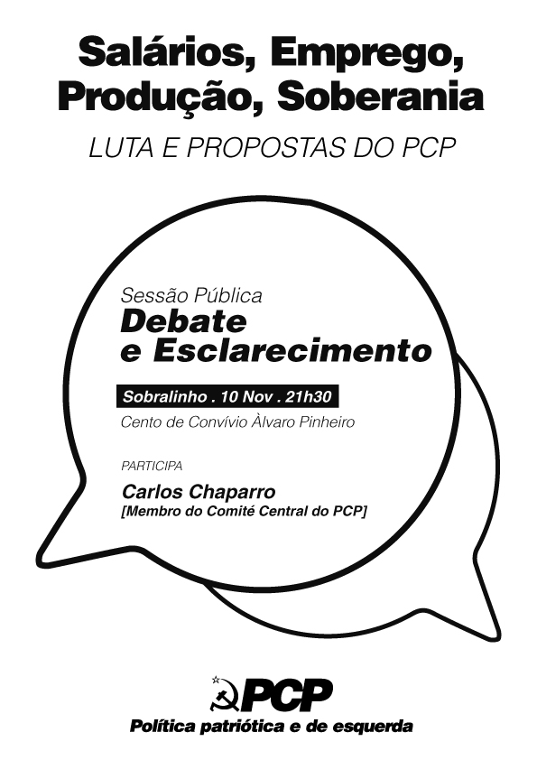 2017 Nov Sessoes Debate PCP Sobralinho